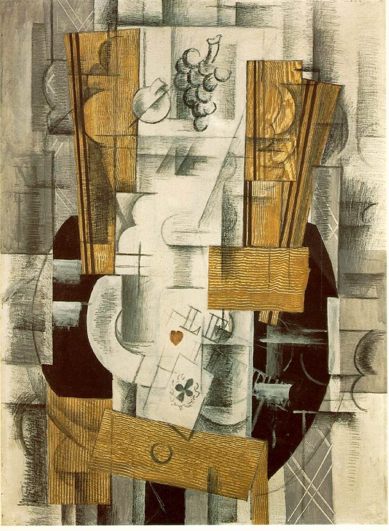 Georges Braque (6) [Fruitdish and ace of clubs].jpg