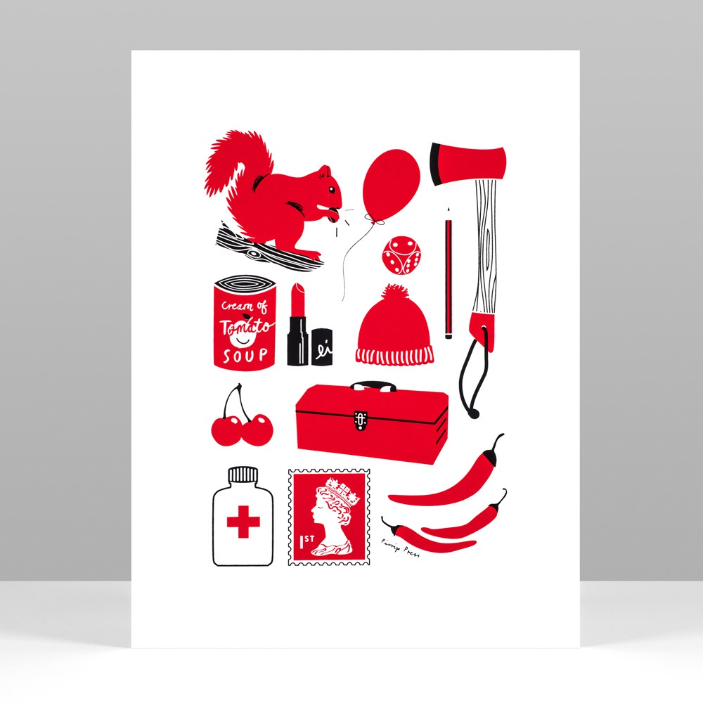 Primary_Red_Silkscreen_Print_Pirrip_Press_01.jpg