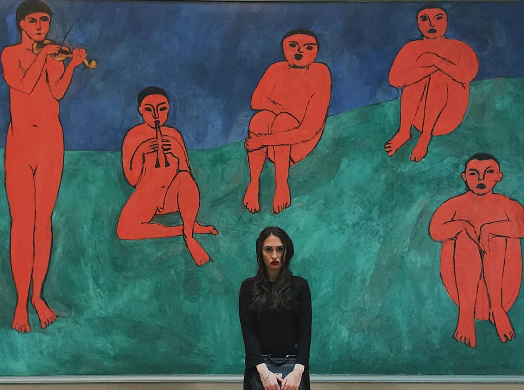 Dance, oil on canvas, Henri Matisse, 1909-1910 @canvas.tube.jpg