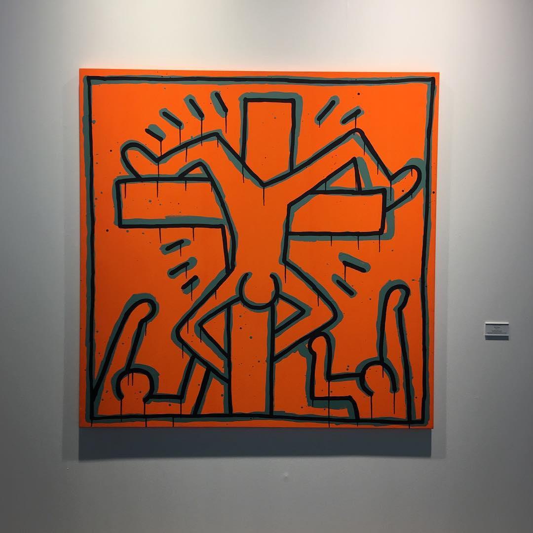 Keith Haring, 1984 @art_informer.jpg