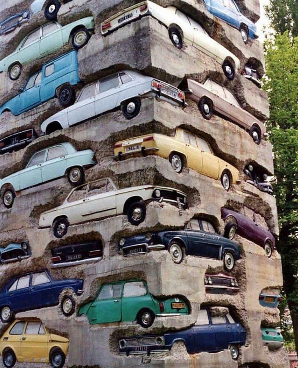 Long Term Parking, Armand Pierre Fernandez, 1982 @alexanderschwarzart.jpg