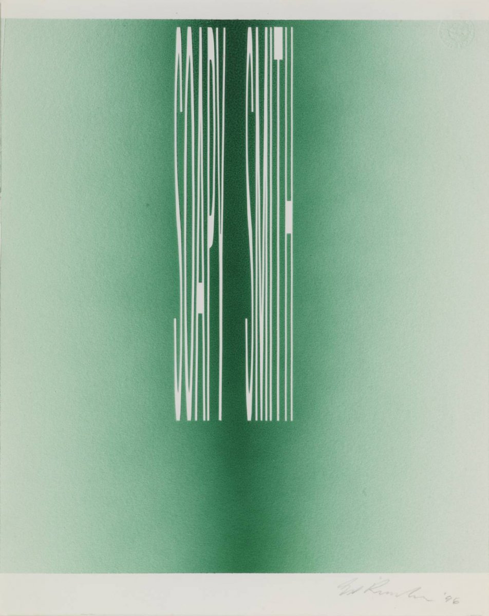 gcd   SOAPY SMITH, Edward Ruscha, 1996, tate.jpg