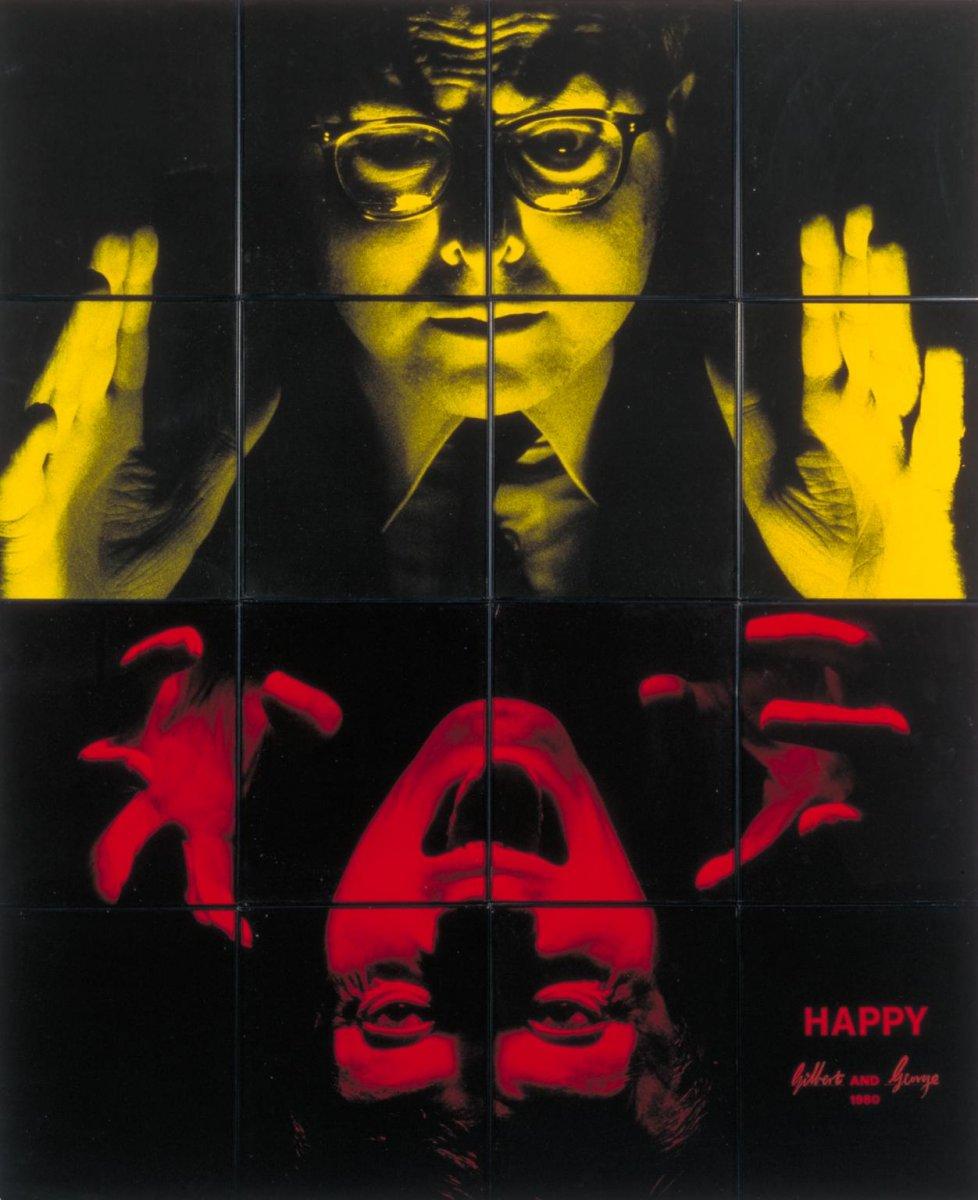 Happy, Gilbert & George, 1980, tate.jpg
