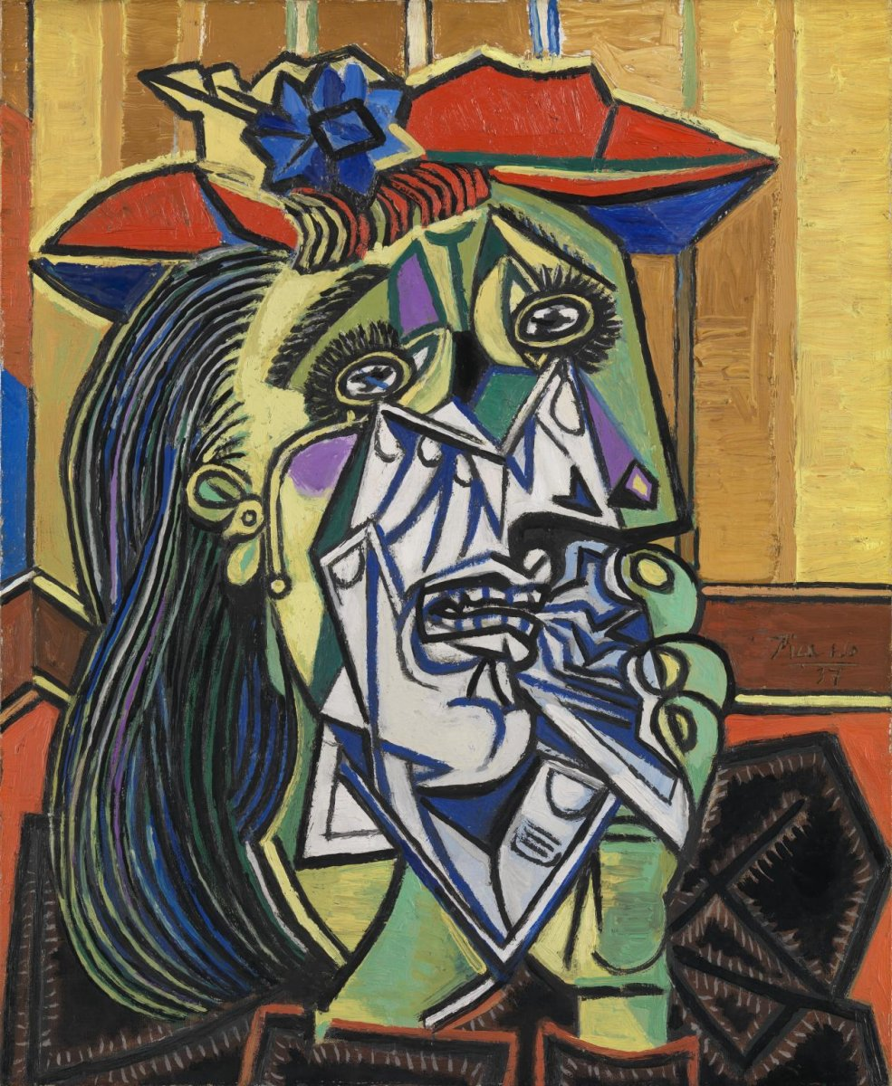 Picasso. Weeping woman..jpg.1
