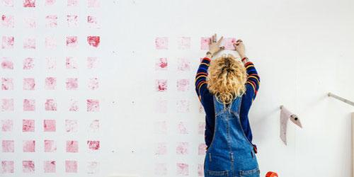 Prints Installation by Liz Rochford